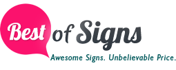 Best Of Signs Coupons
